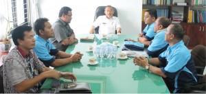 Komunitas Motor Ambarwulan Club Indonesia (ACI) Kunjungi Pemkab Tobasa