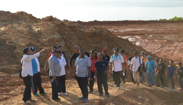 Walikota Sibolga Tinjau Lokasi Lahan Pembangunan Kampus AKN