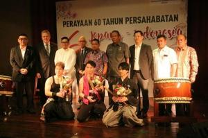 Pertunjukan Musik Tradisional Jepang Taiko dan Shakuhachi Digelar di Medan