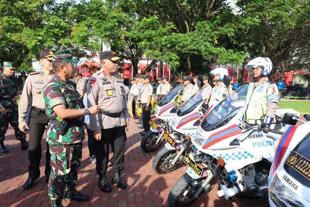 Amankan Pilkada Serentak 2018, Poldasu Turunkan 13.544 Personil Ops Praja Toba