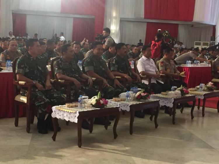 Panglima TNI Ikuti Rapim TNI-Polri Tahun 2019