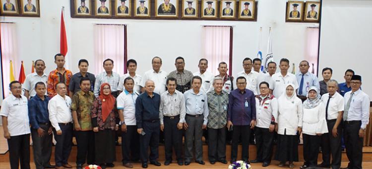 Sukseskan UTBK SBMPTN 2019, Unimed Gandeng 24 PTS dan Sekolah Mitra