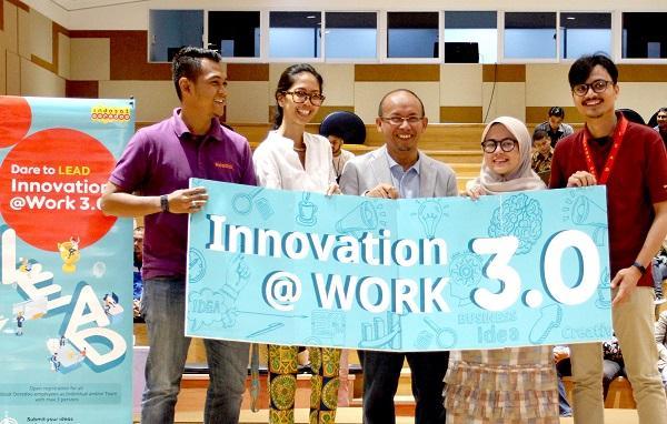 Indosat Ooredoo Luncurkan Program Innovation@Work 3.0