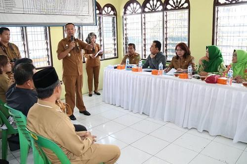 Tim Pembinaan Lomba PKK-KB-KES Provinsi Sumut Kunjungi Kelurahan Sari Rejo Medan Polonia