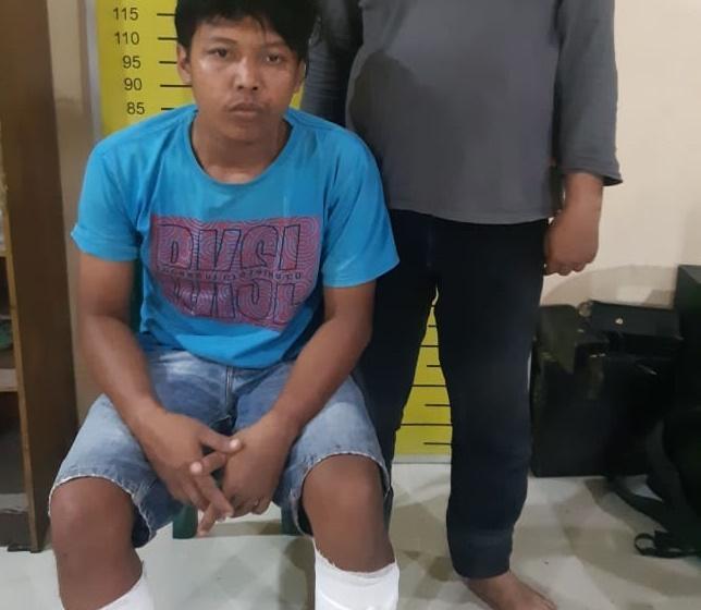 Kerap Merampok di Gerbang Tol Bandar Selamat Medan, Wahyu Ditembak Polisi