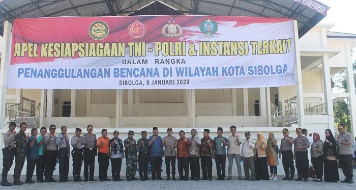 Polres Kota Sibolga Gelar Kesiapsiagaan Penanggulangan Bencana