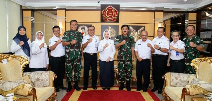 Beri Dukungan Legalitas Formal, TNI dan BMKG Jalin Kerja Sama