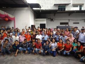 Plt Wali Kota Medan Hadiri Open House Imlek 2020 di Kediaman Tokoh Masyarakat Sumut Arman Chandra (Amien)