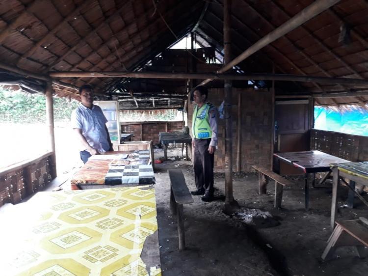 Tindak Lanjuti Program Kapolda Sumut, Polsek Pancurbatu Berantas Judi di Sibolangit