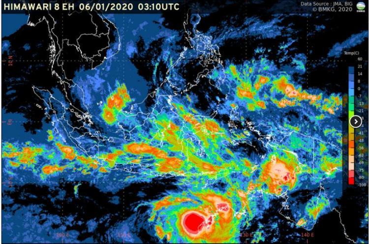 Deteksi Munculnya Dua Bibit Siklon Tropis, BMKG Imbau Masyarakat Waspadai Hujan Tinggi