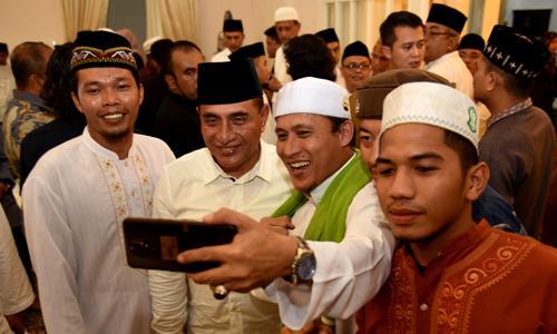 Gubernur Sumut: Hubungan Harmonis Umara dan Ulama Harus Dirawat