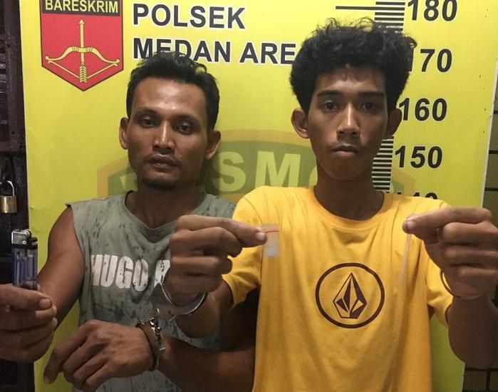 Polsek Medan Area Tangkap Pengedar Sabu dari Jalan Bromo