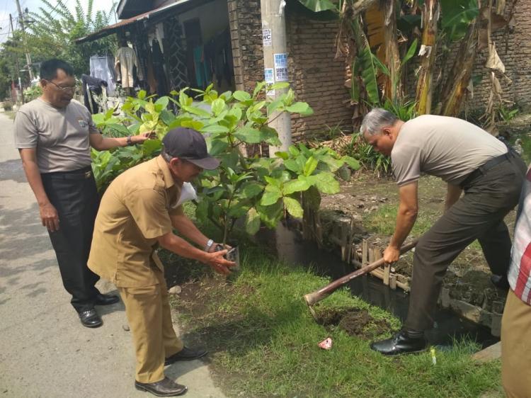 Polsek Medan Area Peduli Lingkungan dan Antisipasi Bencana Alam