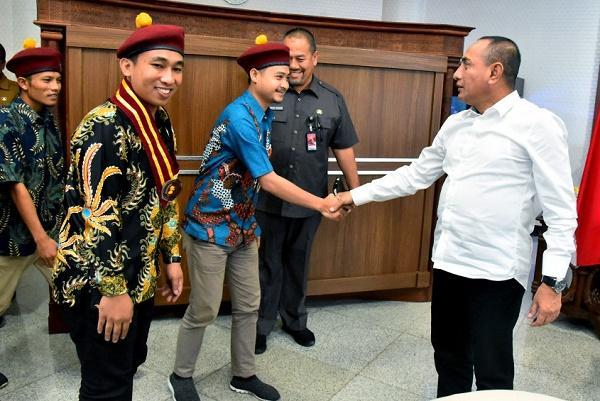 Terima Audiensi PMKRI Sumut, Gubernur Harapkan Pemuda Kreatif dan Inovatif
