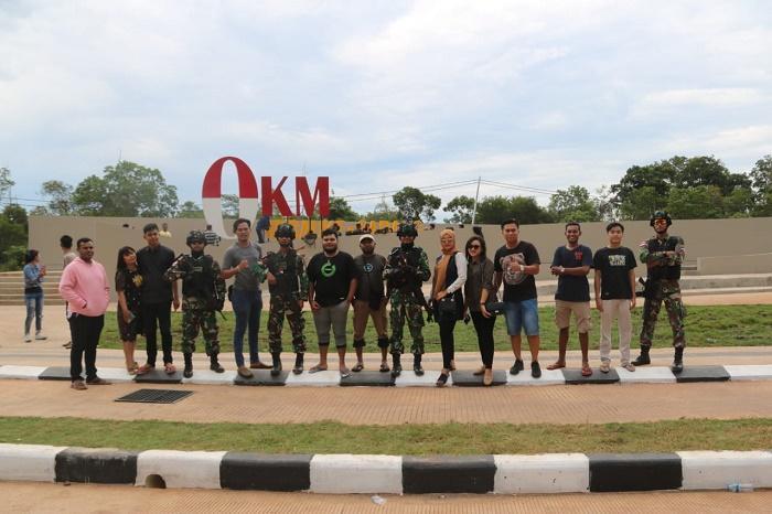 Wisatawan Melonjak, Satgas Yonif 411/Kostrad Siaga di Titik Nol KM Merauke