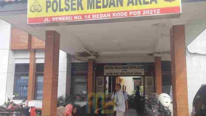 Operasi Buser, Polsek Medan Area Tangkap Pengedar Ganja
