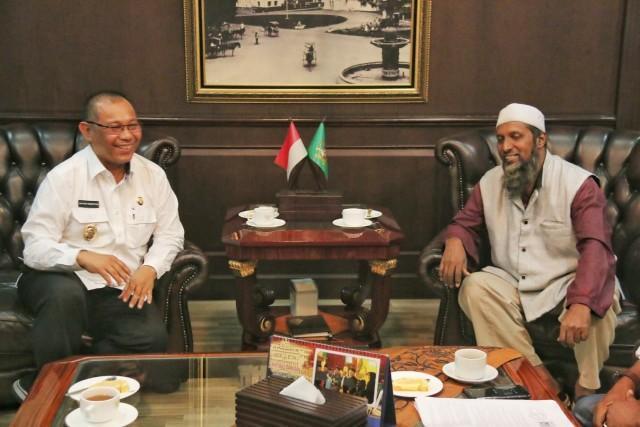 Plt Walikota Medan Terima Audiensi dari Yayasan India Muslim Medan