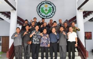 Tingkatkan Pembangunan dan Pendidikan, Komisi A DPRD Labura Kunjungi Unimed