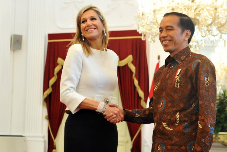 Presiden Jokowi dan Ratu Maxima Bahas Sistem Keuangan Inklusif