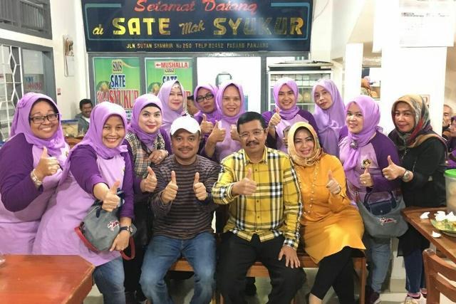 Bertemu Istri-istri Wartawan, Gubernur Sumut Berpesan Dukung Profesi Suami