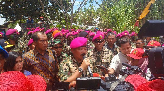 Panglima TNI : Pembentukan Markas Komando Pasmar 3 di Sorong Masih Tahap Proses