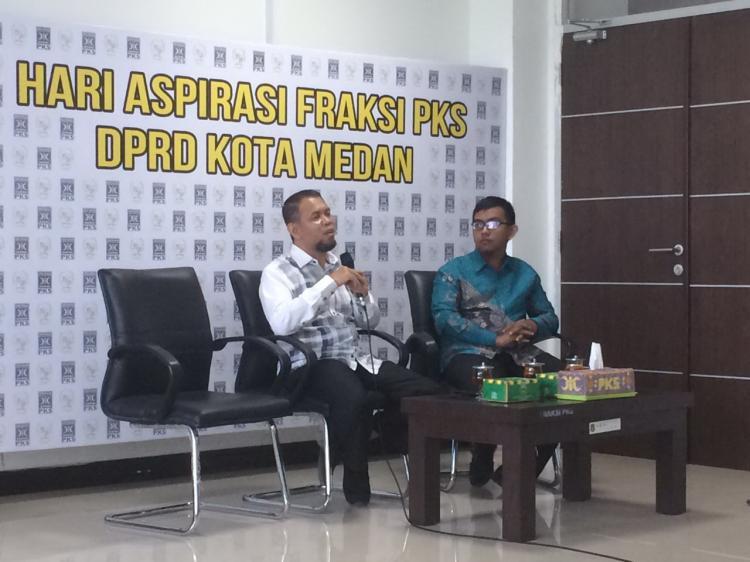 Tak Miliki Grand Design, Pemko Medan Cenderung Bersikap Refresif Hadapi PKL