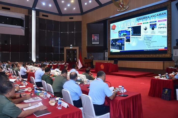 TNI Perlu Sikapi Ancaman Siber Terhadap Integritas NKRI