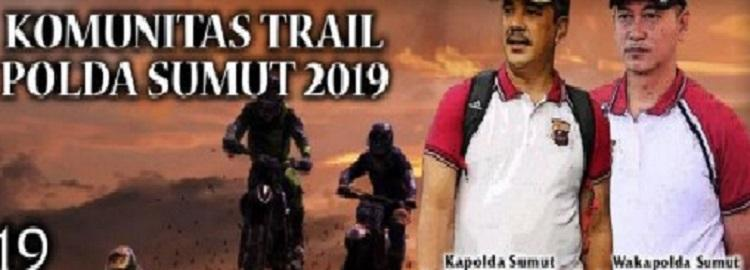 NgeGas Bareng Komunitas Trail Polda Sumut, 2000 Rider Bakal Disuguhi Trek Menantang
