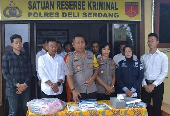 Pembunuh Yennita Nasution Ditangkap Sat Reskrim Polres Deli Serdang