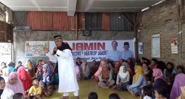 DPC Rumah Relawan Kemenangan Jokowi-Amin Medan Helvetia Gelar Kegiatan Jumat Barokah