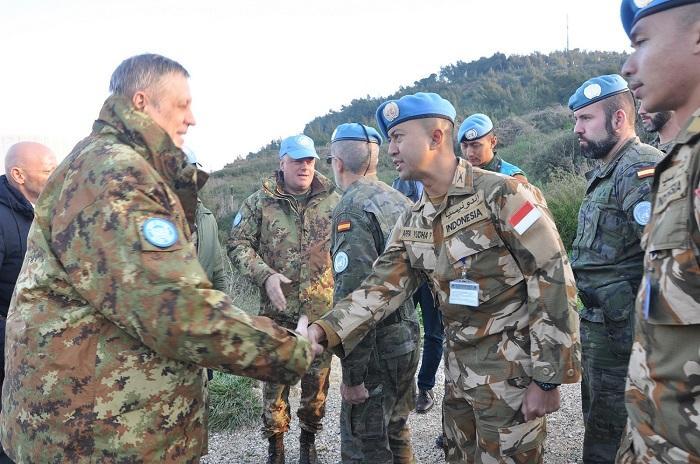 Koordinator Khusus PBB Tinjau Area Operasi Pasukan Garuda di Perbatasan Lebanon-Israel