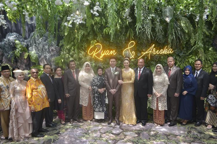 Pernikahan Tengku Ryan dan Ariska Dirangkai dengan Pesta Rakyat