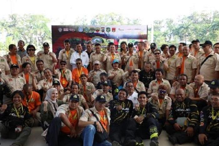 Walikota Medan Hadiri Start Indonesia Off Road Expedition Andalas 2019