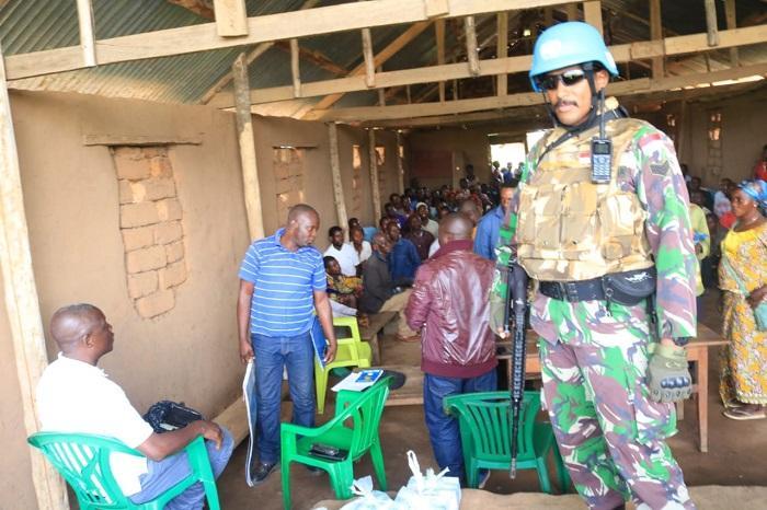 Satgas TNI Konga XXXIX-A Berhasil Fasilitasi Pertemuan Antar Suku di Republik Kongo
