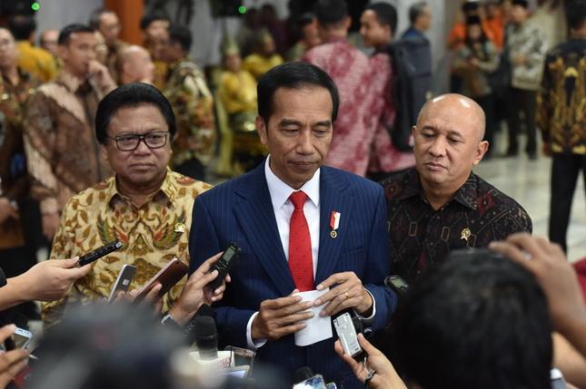 Selain Edukasi Kebencanaan, Presiden Jokowi Ingatkan BNPB Lakukan Penanganan Alamnya