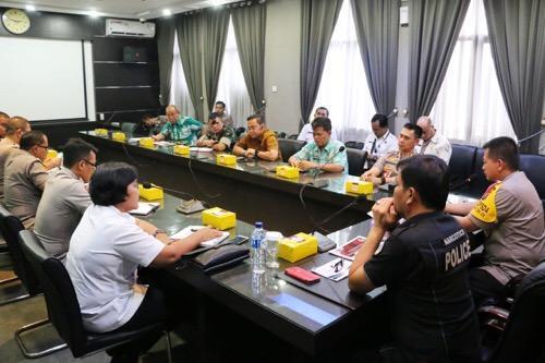 Walikota Medan Hadiri Rapat Koordinasi Persiapan Lomba Kampung Bebas Narkoba dan Kampung Tanggap Bencana