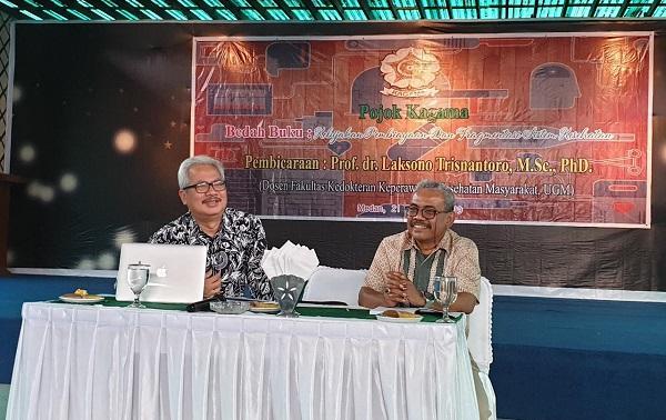 Kagama Sumut Gelar Pojok Kagama dan Bedah Buku di Medan Club