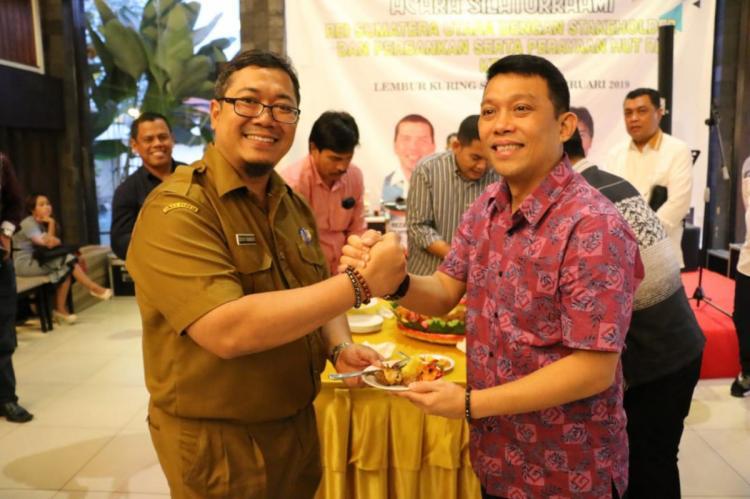 Walikota Medan Hadiri Perayaan HUT REI Sumut