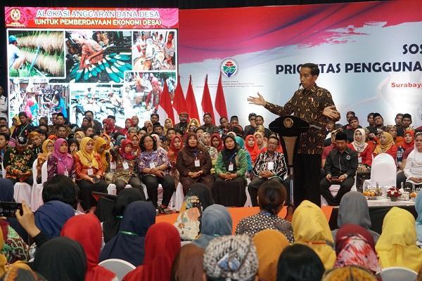 Income Perkapita di Desa Naik 2 Kali, Presiden Jokowi: Dana Desa Harus Ditambah Lagi