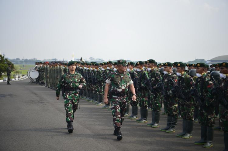 TNI Kirim Ratusan Prajurit Bantu Atasi Kebakaran Hutan di Pekanbaru