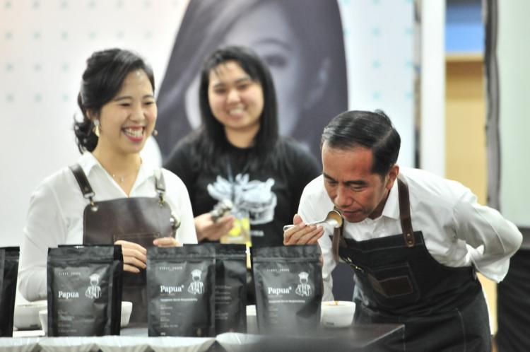 Buka Festival Terampil 2019, Presiden Jokowi Sebut Prospek Warung Kopi Indonesia Besar Sekali