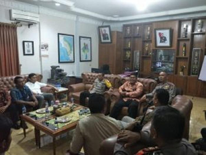 Kapolres Binjai Terima Audensi Komisioner KPU Kota Binjai