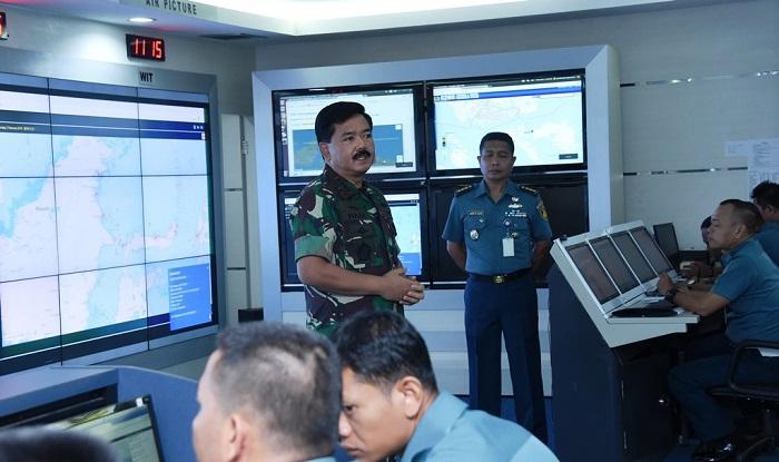 Panglima TNI Apresiasi TNI AL Mengusir Kapal Asing Tanpa Izin