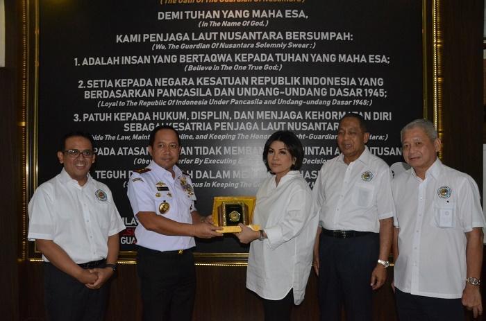 Kepala Bakamla RI Terima Kunjungan Ketua Umum DPP INSA