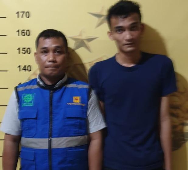 Dua Penipu Berkedok Pegawai PLN Ditangkap Polsek Medan Timur