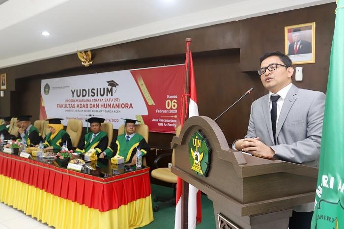 UIN Ar-Raniry Yudisium 107 Mahasiswa FAH