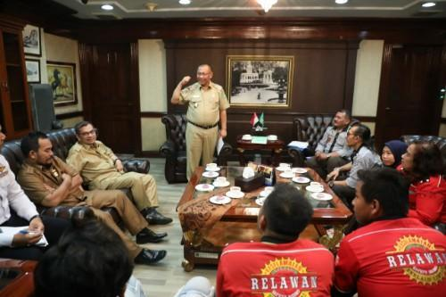 Plt Walikota Medan Terima Audiensi Komunitas Safety Riding Clinic & Training