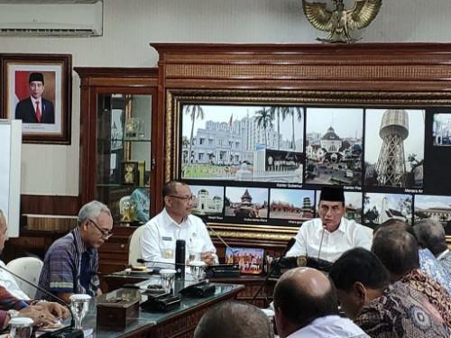 Gubernur Sumut Dukung Plt Wali Kota Medan Tata Kawasan Heritage Kesawan