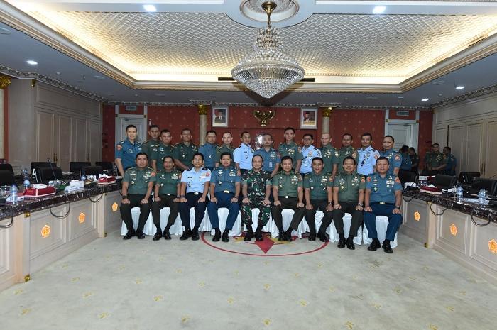 Pangkogabwilhan II Terima Paparan Rencana Operasi (RO) Kotamaops TNI di Wilayah Kerjanya