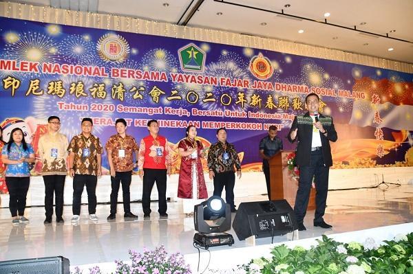 Bersama Warga Tionghoa, Danrem Baladhika Jaya Rayakan Imlek Kebhinekaan